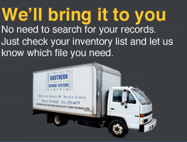 Southern Record Systems Provides Secure Records Management